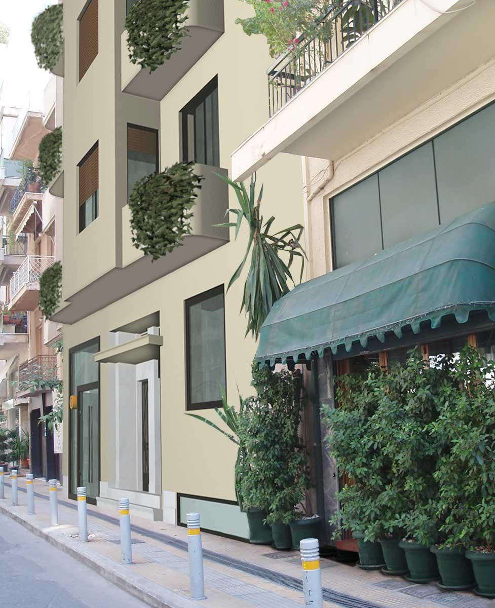 Kolonaki Athens / 32 Charitos St  building |